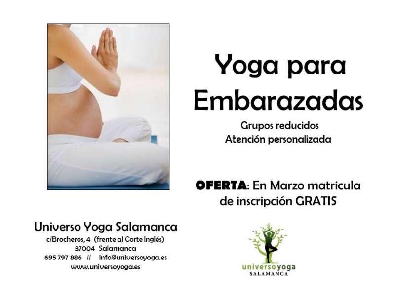 yoga embarazadas oferta