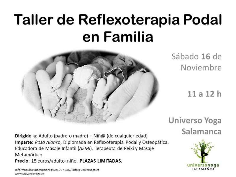 Taller de Reflexoterapia Podal en Familia
