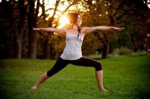 En la foto: Carmen Rodríguez Hochstrasser, profesora de Yoga Dinámico