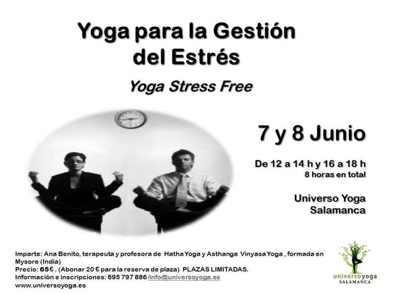 Taller de Yoga Stress Free