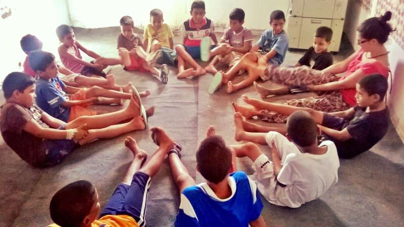 Yoga en el Sáhara