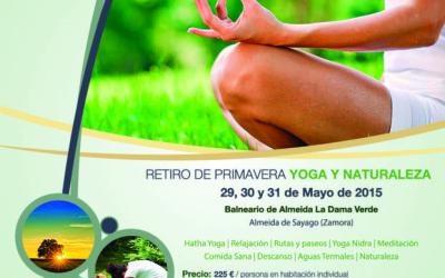 Retiro de Primavera 2015: Yoga y Naturaleza