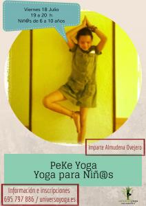 PeKe Yoga Julio 2014