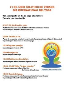 programa salamanca dia internacional del yoga