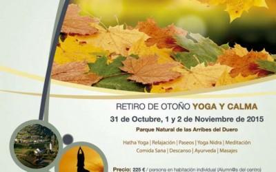 Retiro de Otoño: Yoga y Calma